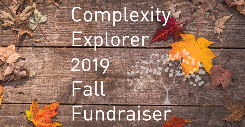 Complexity Explorer 2019 Fall Fundraiser
